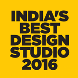 INDIA'S BEST DESIGN STUDIO 2016