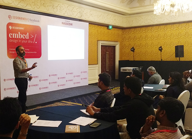 Mahesh Marath conducts workshop on Immersive Mobile Experiences